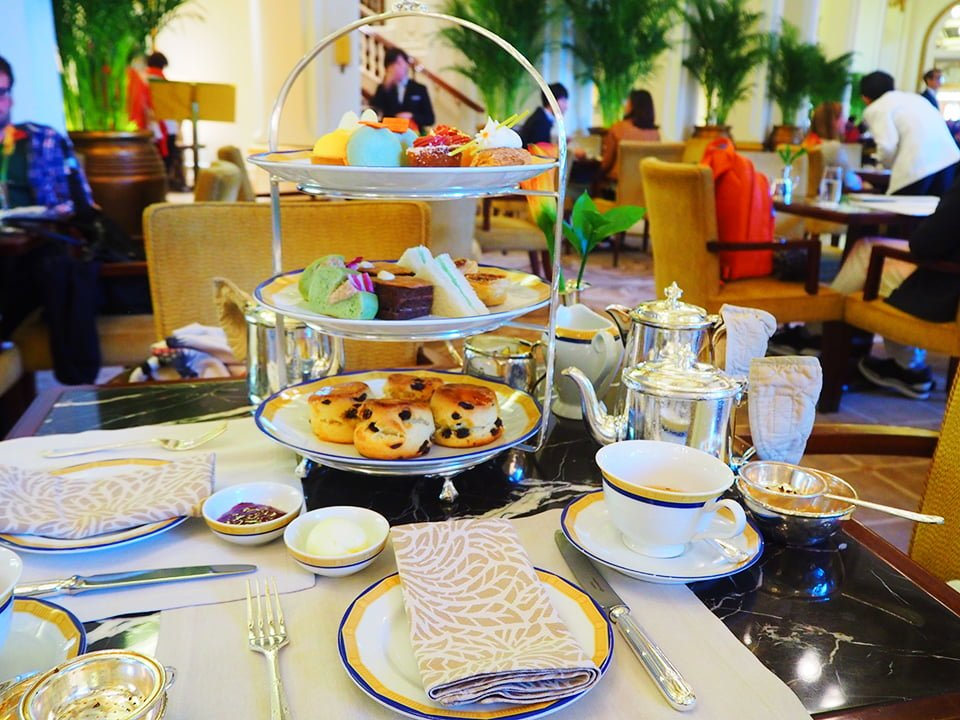 Afternoon Tea in Peninsula Hotel