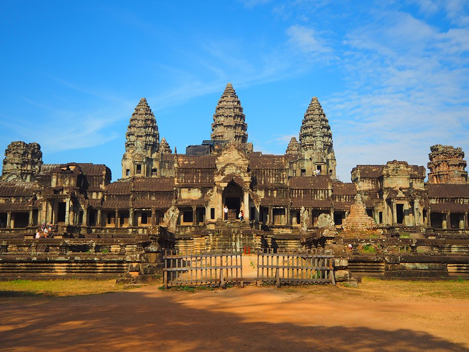 You really don't need a sunrise to see the beauty of Angkor Wat