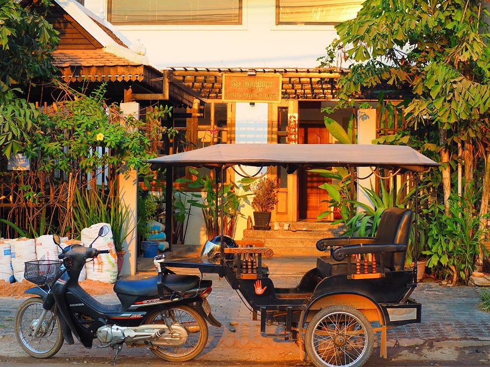 How about the stylish Cambodian tuk-tuk?