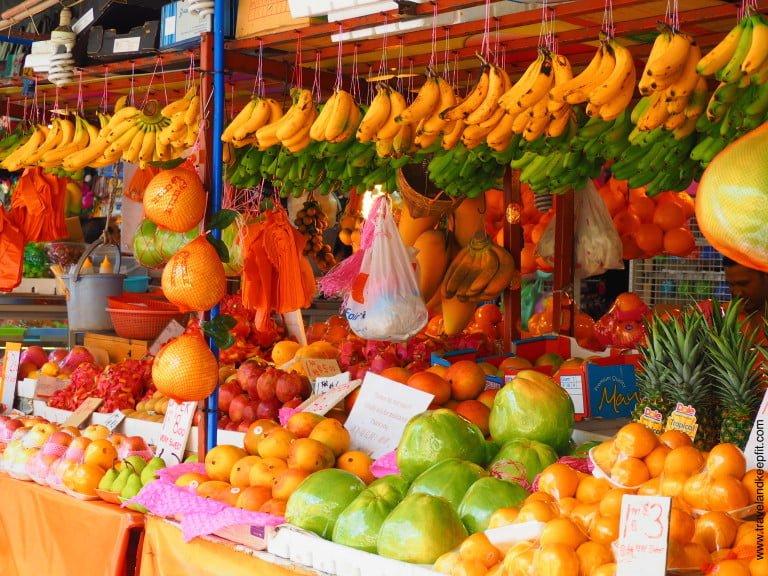Street market in Malaysia