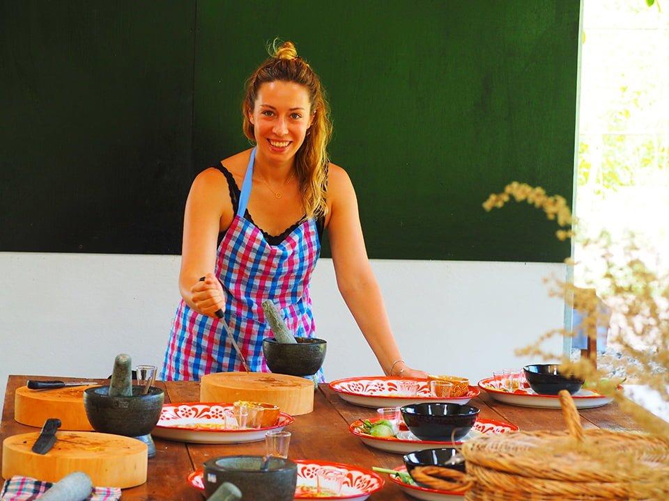 Lekcja gotowania w Tajlandii