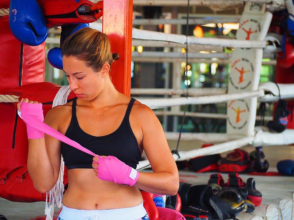 Muay Thai w Tajlandii