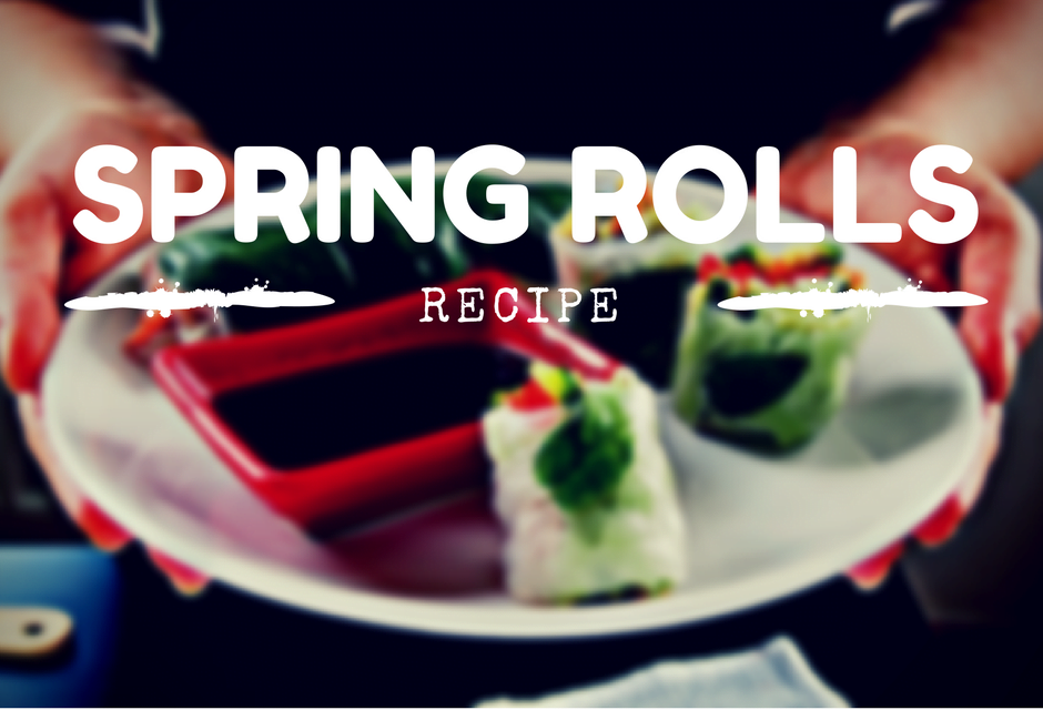 Przepis na FIT Spring rolls