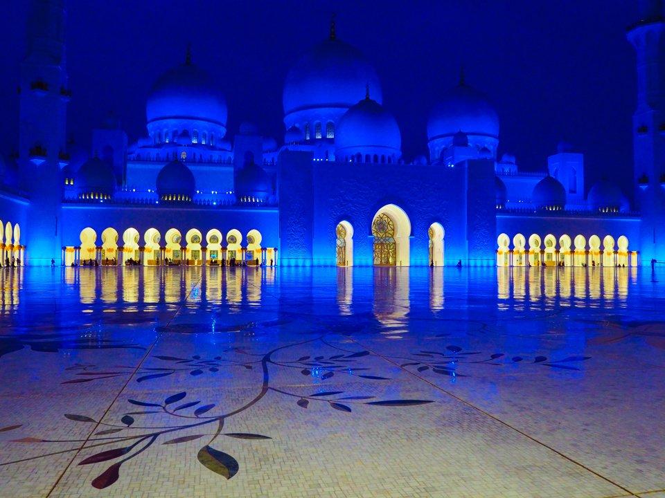 Meczet jak z Baśni Tysiąca i Jednej Nocy