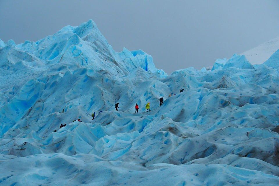Trekking na Lodowiec Perito Moreno w Argentynie