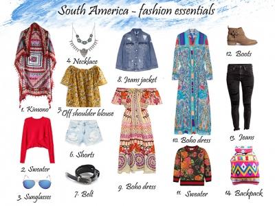 Mój styl w podróży - Ameryka Południowa