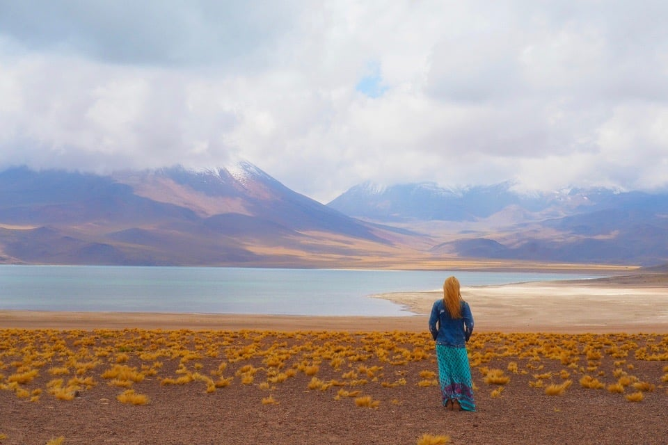Laguny pustyni Atakama – tęcza pośród pustkowia