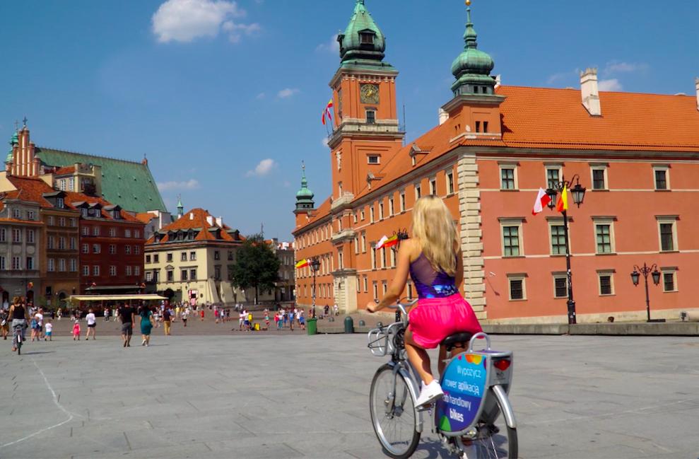 Co robić w Warszawie latem?