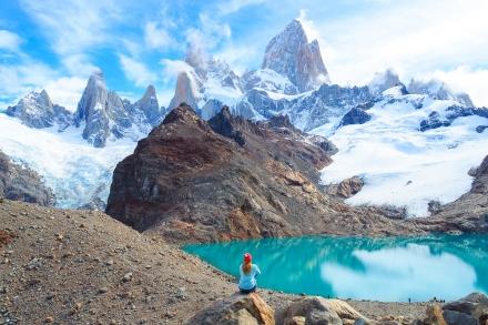 Fitz Roy w Argentynie - gdy natura każe na siebie zasłużyć