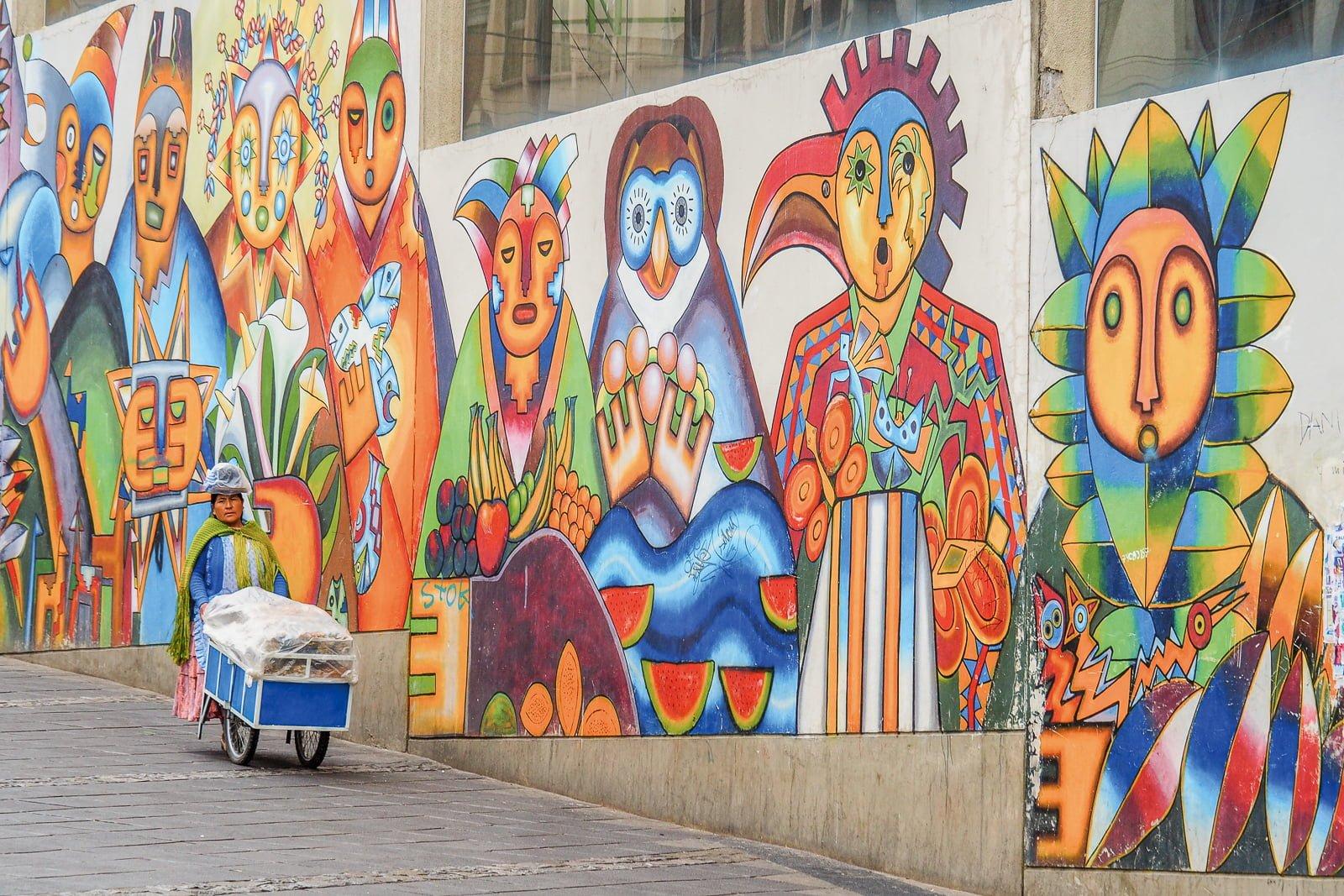 Magiczne miasto La Paz i proszek na niegrzecznego chłopaka