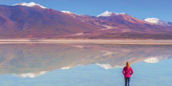 The total off-road to Salar de Uyuni in Bolivia