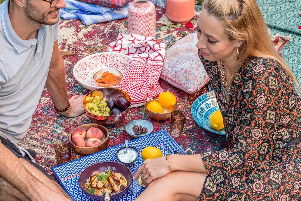 Piknik w orientalnym stylu i przepis inspirowany Marokiem