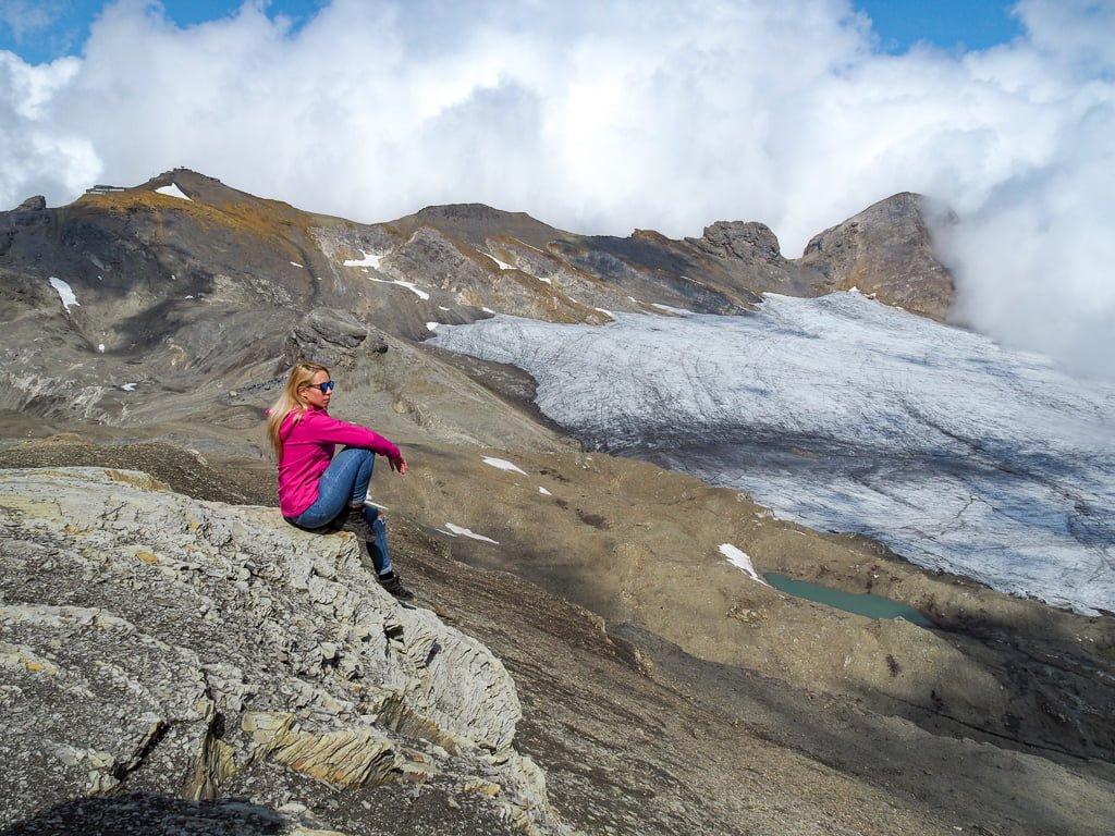 Trekking na Lodowiec Plaine Morte i mój niezbędnik w górach