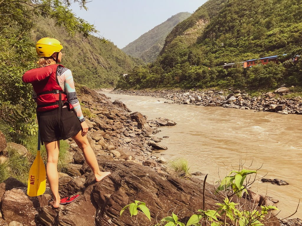 Whitewater Rafting w Nepalu