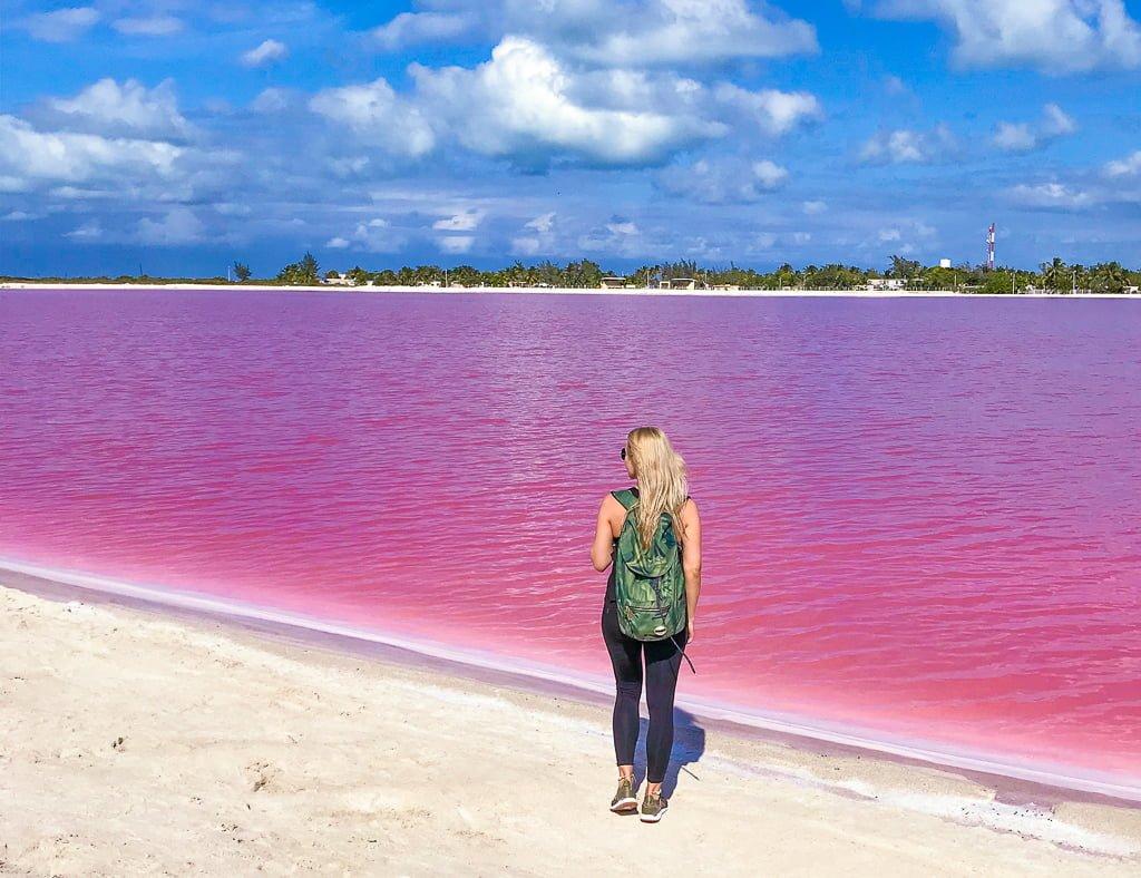 Różowe jezioro w Meksyku: HIT czy KIT?