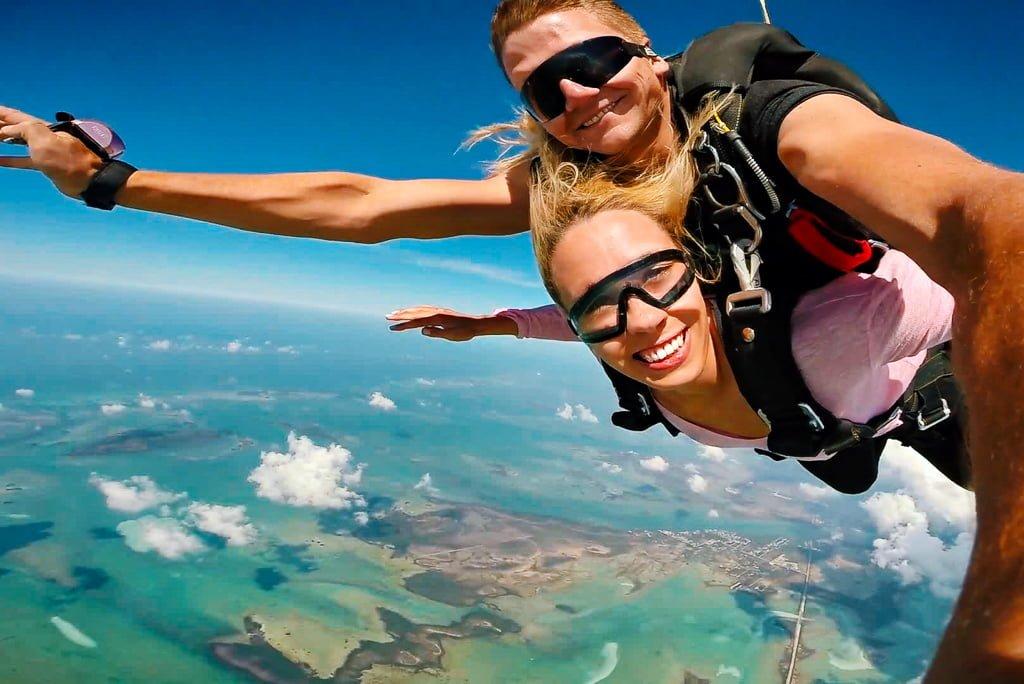 Wyskoczyłam z samolotu! Skok ze spadochronem na Key West na Florydzie