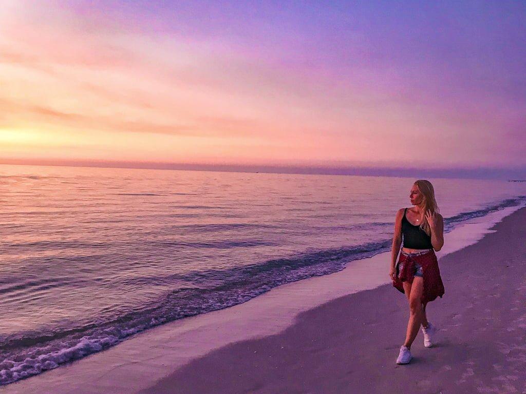 Najpiękniejsze zachody słońca na Florydzie, której wywołują uśmiech na twarzy