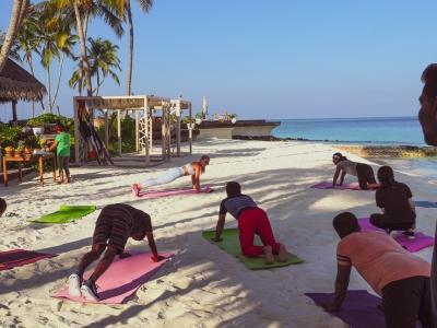 Prowadziłam treningi fitness na Malediwach!