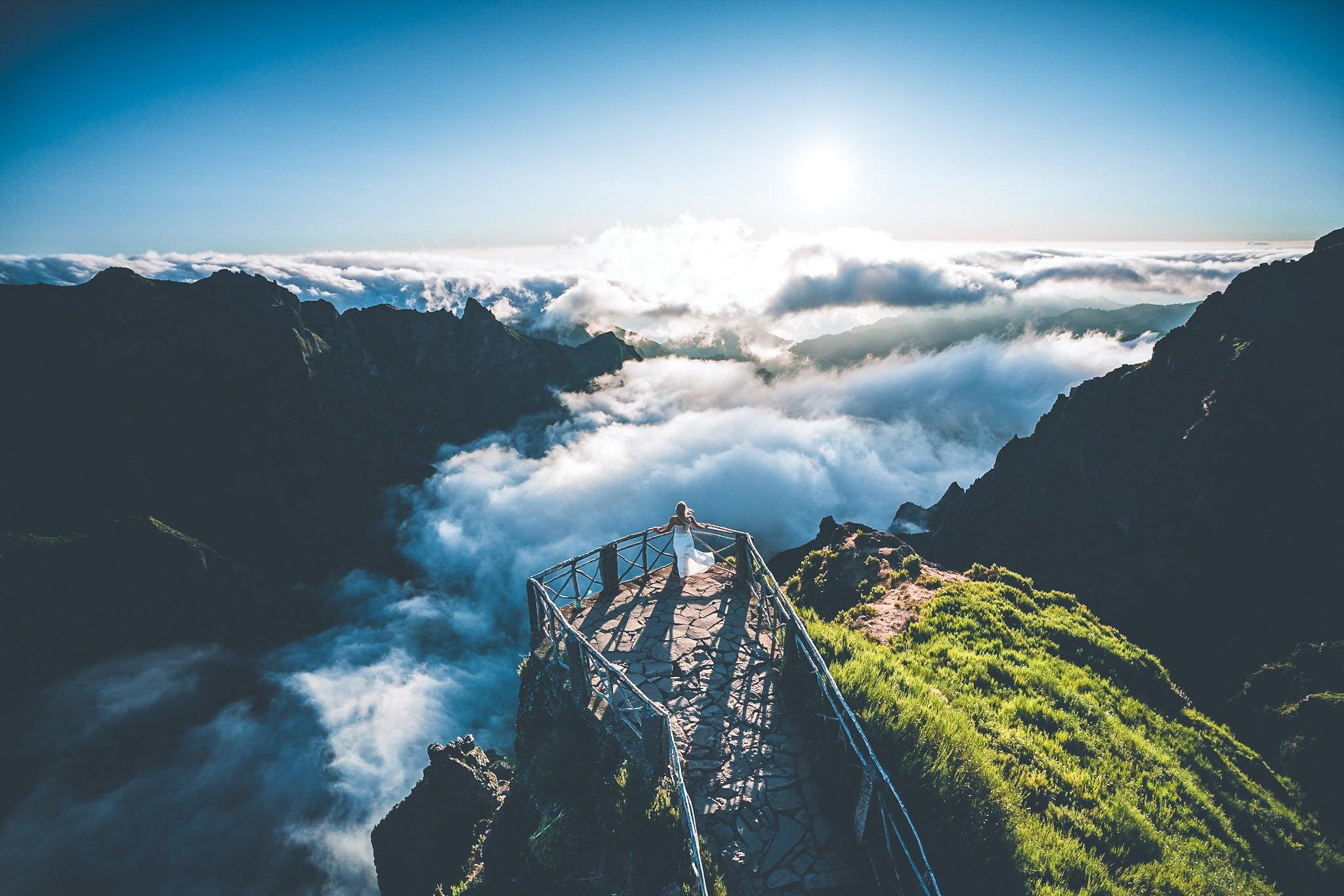 Pico do Arieiro – the most beautiful place for a sunrise on Madeira