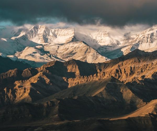 Ladakh - knocking at the Himalayas' doors