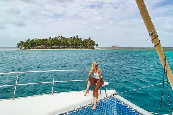San Blas w Panamie - żeglowanie po Polinezji Francuskiej Ameryki Centralnej
