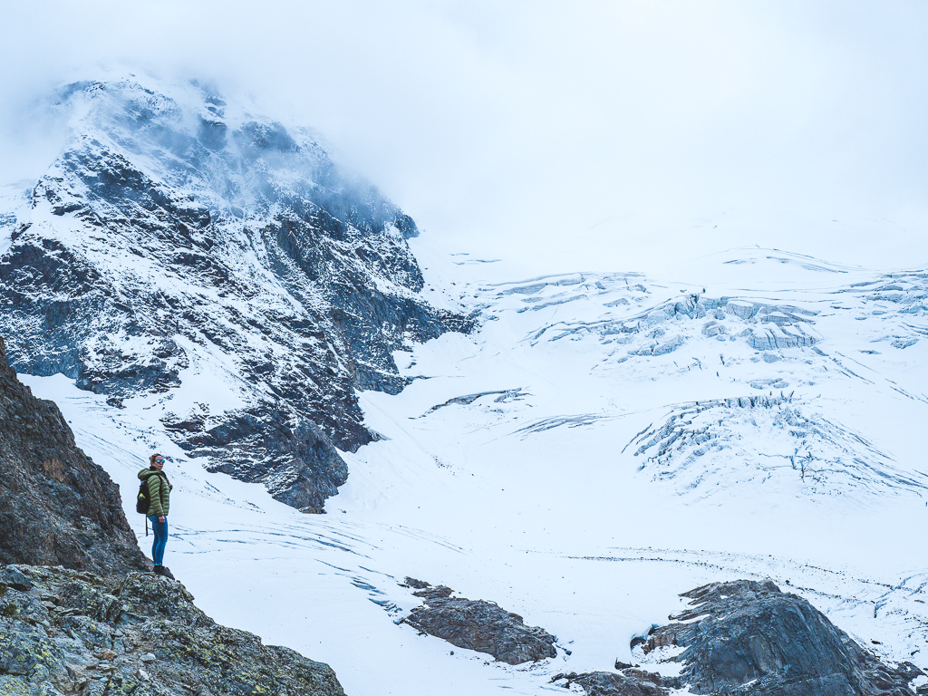 Diavolezza - the best glaciers viewpoint in Swiss Grisons
