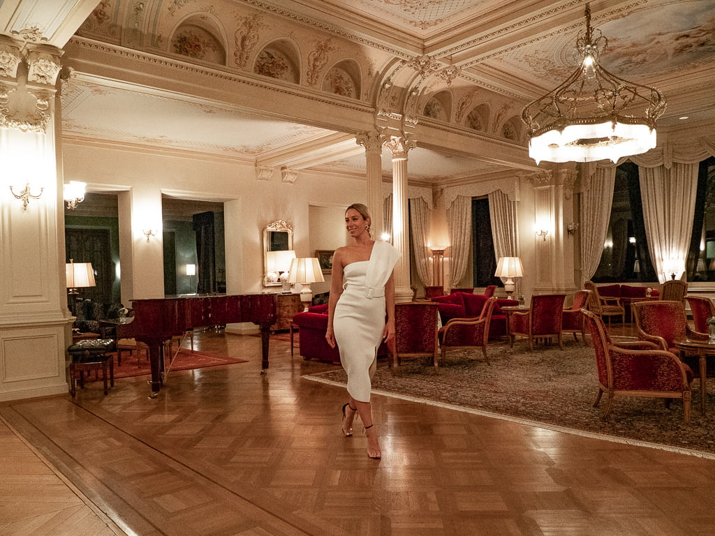 Grand Hotel Kronenhof – XIX wieczny luksus i weekend jogowy z widokiem na Alpy
