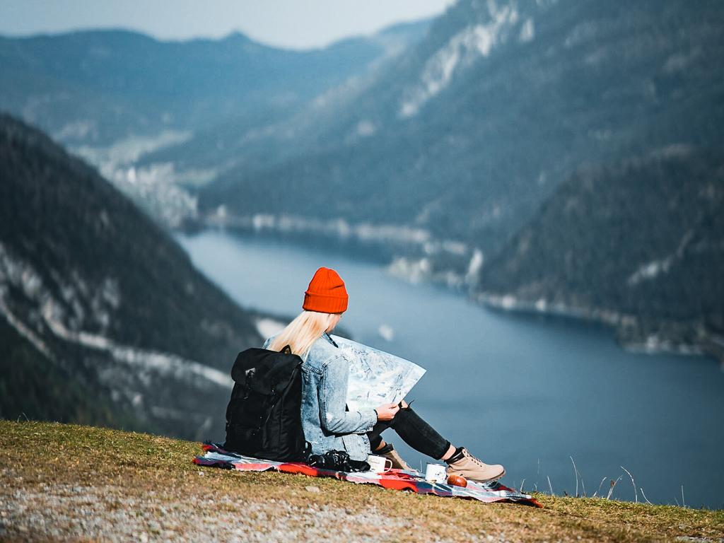 Hiking na Bärenkopf wokół jeziora Achensee w Tyrolu w Austrii